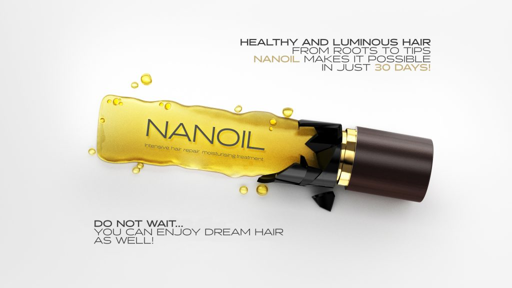 Nanoil for High Porosity Hair - best in hair care